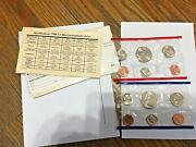 1988 P And D U.s. Mint Uncirculated Coin Set Denver And Philadelphia 12 Coins