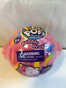 New Pikmi Pops Bubble Drops Neon Wild Single Blind Pack Pink