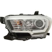 Headlight Lamp Left Hand Side Driver Lh 8115004261 For Toyota Tacoma 2018