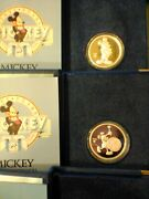 5 Disney Collectible Coins Each Pure Troy Ounce Silver