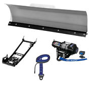 New Kfi 60 Pro-series Snow Plow System - 2006-2012 Can-am Outlander Max 650 Atv