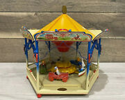 Vintage Tin Toy Germany Tucher And Walther Carousel 100 Original Works
