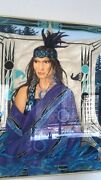 Stole Waand039ko-ni By A.tzapoff Native American Wall Art Hermandegraves Scarf Framed