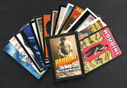 Harry Houdini The Worldand039s First Superhero Complete Preview Card Set W/ Header