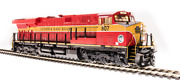 Broadway Limited Ho 5867 Ge Es44c4 Fec 816 Red And Yellow Paragon3 Sound/dc/dcc