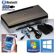 Usb And Bluetooth Mobile Printer Hp Officejet 100 For Windows Xp 7 8 10 Android
