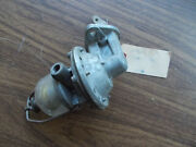 Nos 37 1937 38 1938 39 1939 40 1940 Willys Jeep Fuel Pump Nors 461 Glass Bowl