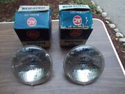 Vintage T3 T/3 T-3 Pair Sealed Beams For 6 Six Volt Only For 2-headlight Systems