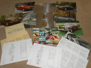 1973 Rolls Royce And Bentley Portfolio Brochure / 9 Full Color Plates And More