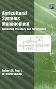 Agricultural Systems Management Optimizing Eff Peart Shoup-
