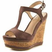 Joy In Love Womenand039s Wedges Sandals High Platform Open Toe Ankle Strap Shoes