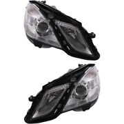 Mb2503182, Mb2502182 Headlight Lamp Left-and-right For Mercedes E Class Sedan