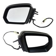 Pair Set Of 2 Mirrors Left-and-right Heated For Mercedes Ml Class Lh And Rh Ml320