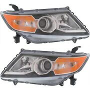 Hid Headlight Lamp Left-and-right Hid/xenon Lh And Rh Ho2503159 Ho2502159