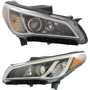 Headlight Lamp Left-and-right Hy2503183 Hy2502183 92102c2000 92101c2000