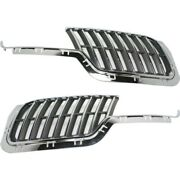 Grille Assemblies Set Of 2 Left-and-right Ah6z8200aa Ah6z8200ba Lh And Rh Pair