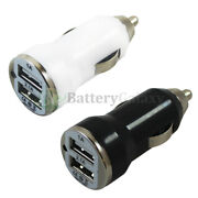 Lot Usb Car Charger 2-port Adapter For Phone Samsung Galaxy S20/s20+/s20 Ultra