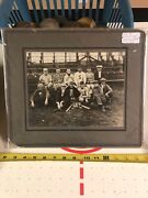 Antique 1925 Upstate Ny Baseball Team Cabinet Photo Vintage Picture Nys Florence
