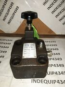 Eaton / Vickers Relief Hyd Valve M/n-cg-06-fv-50 Used  12c2