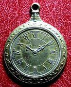 Wall Or Pocket Watch As Medal
