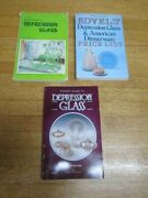 Depression Glass Softcover Book Lot Of 3 Gene Florence Pocket Guide Kovels Price