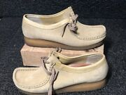 Clarks Original Wallabee 35395 Chukka Mocassin Loafer Shoes Womens Size 9