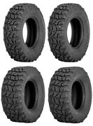 Complete Set Of Sedona Coyote Tires - 2004-2005 Can-am Outlander 400 H.o. 2x4