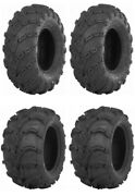 New Complete Set Of Itp Mud Lite - Xl Tires - 2002-2008 Yamaha 660 Grizzly