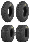 New Complete Set Of Itp Holeshot Gncc Tires - 2007-2011 Polaris 525 Outlaw