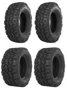 Complete Set Itp Ultra Cross Tires -2018-2019 Can-am Maverick X3 X Rs Turbo