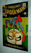 Amazing Spider-man 35 Nm+ 9.6 Ow Pages 1966 Marvel - 2nd Molten Man