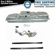 Fuel Tank With Straps And Electric Fuel Pump/sending Unit Kit 34 Gallon For Gm