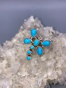 Navajo Dragonfly Sleeping Beauty Turquoise Sterling Ring Signed Andldquomhandrdquo