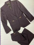 Vintage  Suit Gg Jacket And Pants Trousers I 46 Fits Small