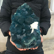 44.6lb Top Natural Blue Fluortie Quartz+sodalite Cluster Crystal Point Mineral