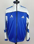 Vintage Levski Sofia Adidas Made In West Germany Track Jacket Menand039s Size 2xl Top