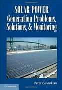 Solar Power Generation Problems Solutions And Monitoring By Gevorkian New-