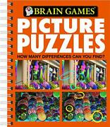 Picture Puzzles Brain Games New 9781412716581 Fast Free Shipping-,