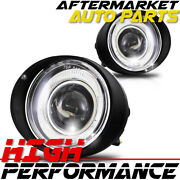 For 2002-2004 Nissan Altima Halo Projector Fog Lights Clear