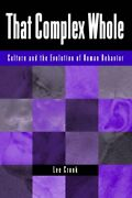 That Complex Whole By Cronk, Lee New 9780813337050 Fast Free Shipping,,