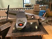 Vintage Airplane Aircraft, Military Plane Toy Display