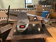 Vintage Airplane Aircraft Military Plane Toy Display