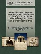 Ely Norris Safe Company, Petitioner, V. The Mos, Warfield, P,,