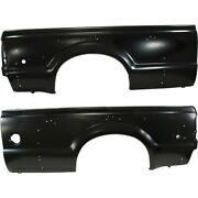 Quarter Panel For 99-2010 Ford F-350 Super Duty Left And Right Set Of 2