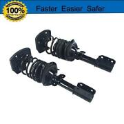 Complete Struts Andcoil Assembly Front Pair Fit For 2008 2009 Audi A5 Quattro 3.2l