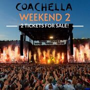 Coachella 2020 Ticket With Shuttle Pass Sold Out Show