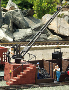 Piko G Scale 62076 Coaling Station, Building Kit G-scale