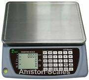 6.6 Lb X 0.0002 Lb / 3 Kg X 0.1 Gram Large 13 X 9 Inch Tray Counting Scale