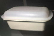 New Tupperware Ultra 21 Loaf Pan And Storage Seal Brand New Rare