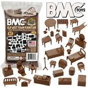 Bmc Marx Old West Hotel And Jail Western Town Playset Furniture And Accessories